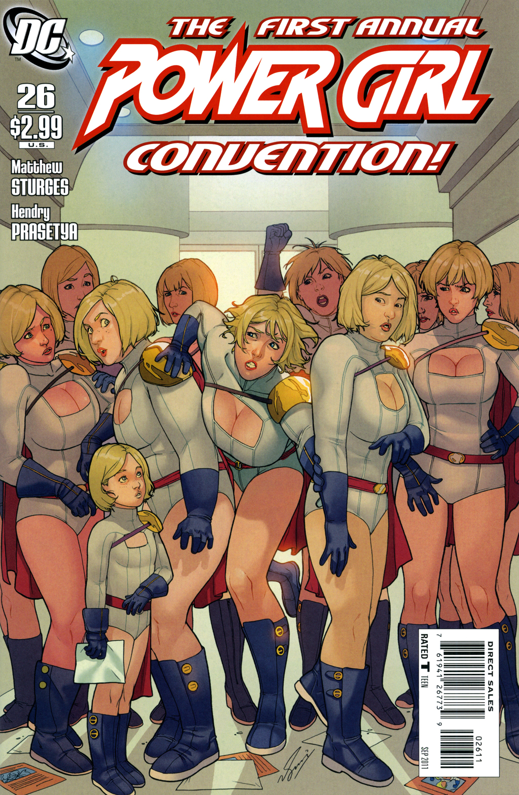 Review of Power Girl #26